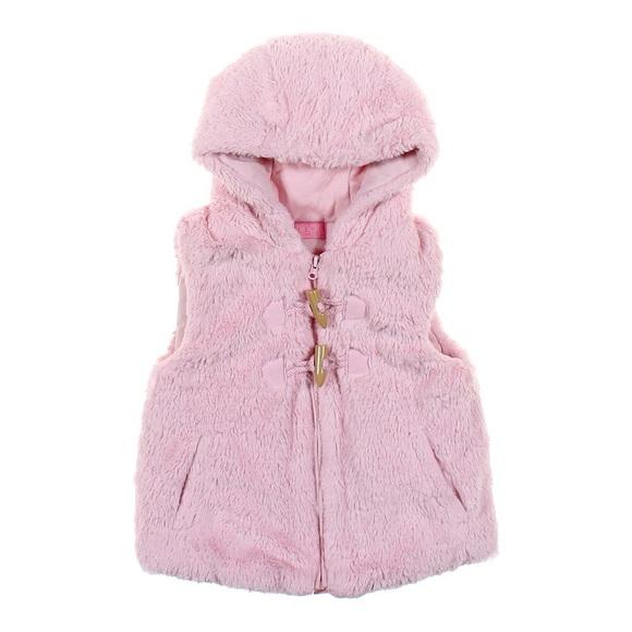 9ed4f7e3 ... Fur Hooded Vest by Minoti✨. M_5a52f932a4c4853bc401bce9. Other Jackets &  Coats ...